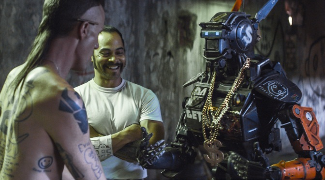 Chappie with Ninja and America