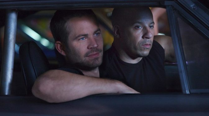 Paul Walker and Vin Diesel in the Fast and Furious franchise.