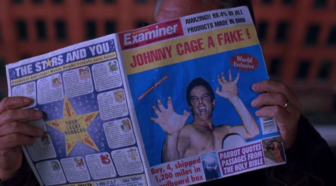 Johnny Cage a Fake! Mortal Kombat Movie