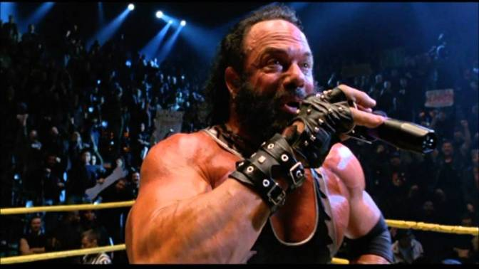 """Bonesaw"" McGraw played by Macho Man Randy Savage in Spiderman"