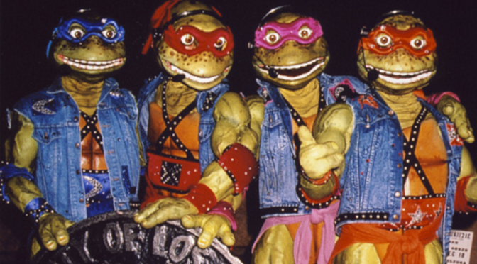 Teenage Mutant Ninja Turtles: Coming Out of Their Shells
