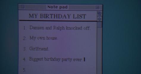 Preston's Birthday Wish List (Blank Check)