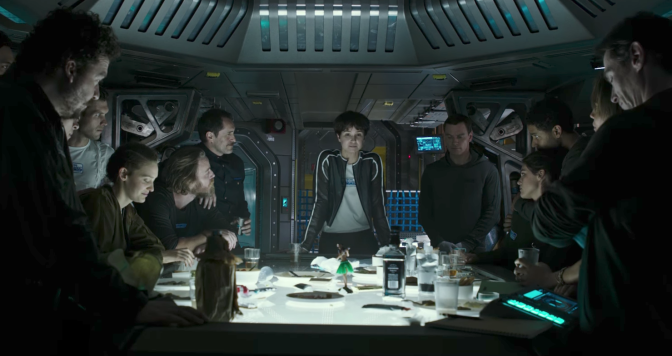 Alien: Covenant crew