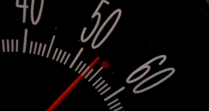 Speed (1994) Bus Speedometer