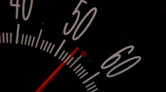 Speed (1994) Bus Speedometer